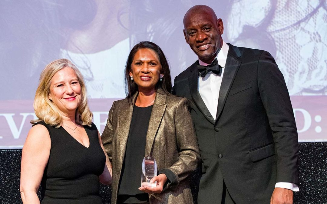 "THE VOICE – ""Diversity Legal Awards Honour Trailblazer Gina Miller"""