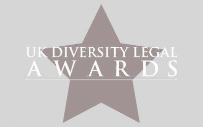 UK Diversity Legal Awards 2018 – Finalists announced!