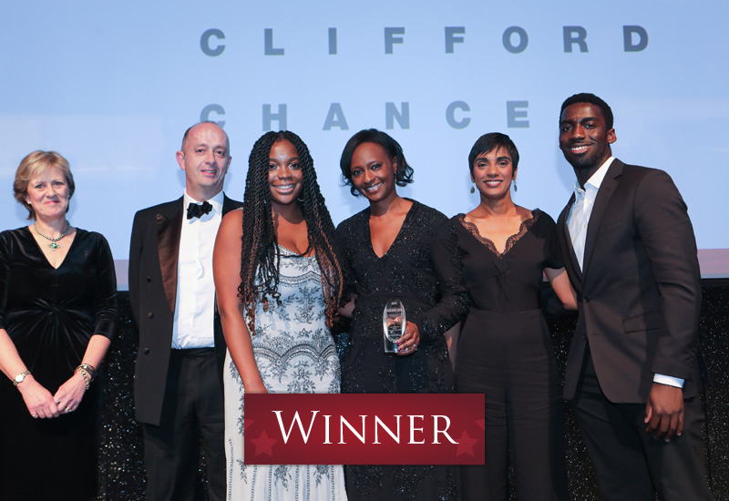 Outstanding BAME Employee Network of the Year